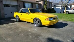 1993 Ford Mustang feature car supercharged