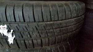 4x 175.65.15 Michelin Pilot A/S 3, 90% on Toyota 4x100, $160