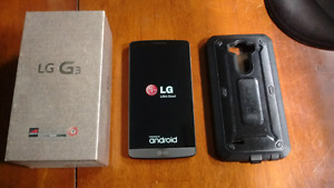 LG G3 16GB WITH BELL/VIRGIN