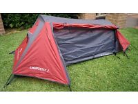 Ultralight 1 Person Tent 1,37kg - Used Twice - Like New