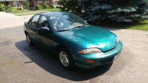 1997 Chevrolet Cavalier Sedan - 74,833km - Reduced price!!