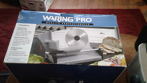 New meat slicer 45.00 New used 1
