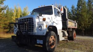 Single axle Plowtruck