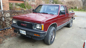 1991 GMC S15 S10 Sonoma Extended Cab