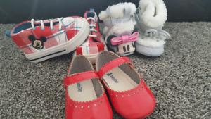 Great condition - 12 - 18 month Disney & Baby Gap  Shoes / Boots