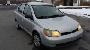 2002 TOYOTA ECHO, AUTOMATIQUE, DEMARREUR. MEC A-1!