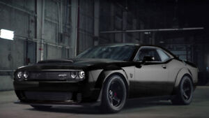 Dodge Demon - New - Black on Black - No sunroof
