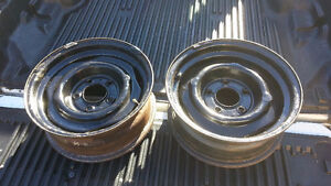 I have two 15 inch rims that are in great shape. 1 (506) 292-948