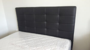 Brand NEW! #103 Double size Black Faux Leather Bed Frame