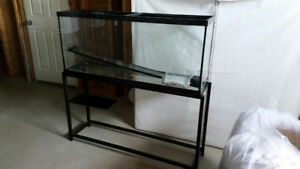 Aquarium 50 Gallon with Stand
