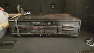 Sony cassette player Strathcona County Edmonton Area image 1