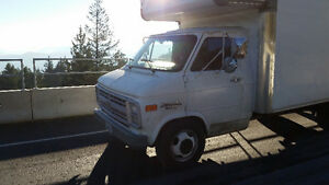 Save $$! Empty moving truck to Vancouver Island
