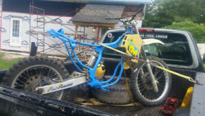 1987 Suzuki RM250. Project or parts.