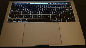 "MACBOOK PRO 13"" TOUCH BAR (3.1 GHz CPU, 256 GB SSD)  - LIKE NEW"