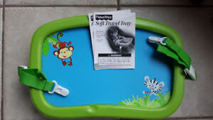 Children car seat Toy and Coloring tray