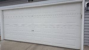 7' x 16' garage door Edmonton Edmonton Area image 1