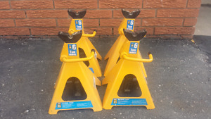 6 Ton Safety Stands