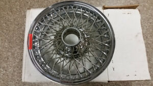"New Set of Boxed Jaguar Dayton D455 72 Spoke 15"" Rims"