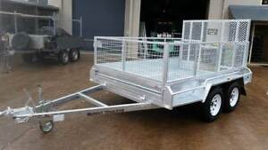 NEW H/ DIPPED GAL10 X 6 TRAILER 600mm CAGE AND 1400MM RAMP $67PW Dalby Dalby Area Preview