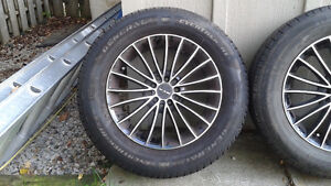 16 in Tires with Rims -  Moving $600 obo Stratford Kitchener Area image 3