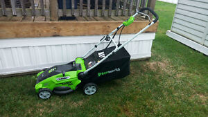 Electric Lawnmower almost new