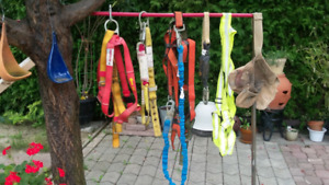 Carpenter Pouch and 5pc Safety Harness