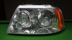 LINCOLN AVIATOR HEADLIGHT ASSEMBLY 2003-2005 LH DRIVERS SIDE HID