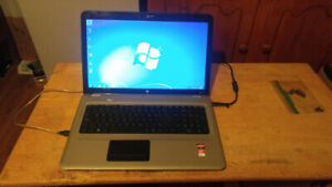"17.3"" HP DV7-Triple Core- 6GB Ram - Dual Graphic - HDMI - Mint"