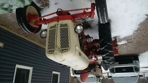 fiat tractor and blower