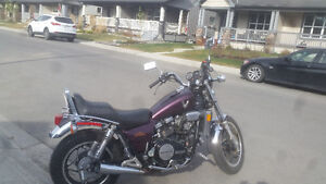 Motorcycle Trade For Muscle Car