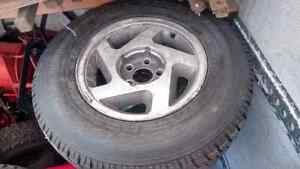 P235/70R15 Toyo winter tires with rims Cornwall Ontario image 1
