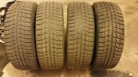 For sale Michelin Latitude X-Ice Set of 4 Winter Tires 235/70R15