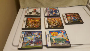 Nintendo DS Games - Includes Cases And Instruction Booklets