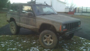 need to sell, 1998 jeep XJ lifted 5 speed 2 door