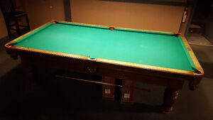 8' Dufferin Anniversary pool table