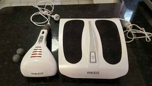 Homedics Foot and Hand Held Percussion Massager Kingsford Eastern Suburbs Preview