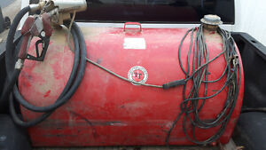 Diesel fuel tank and pump