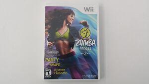 Zumba Fitness 2 pour Nintendo Wii - Comme neuf
