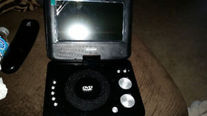 Brand new portable dvd player