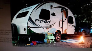 Wanted TRAVEL trailer ( small )... R-Pod, .exc..