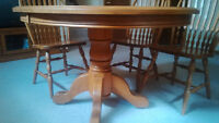 Dining Table and Chairs - Mennonite Made