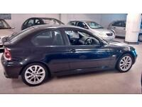 BMW 320 2.0TD 2003MY td SE Compact only 96728 miles