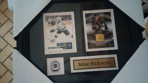 Framed Hockey Cards with pin & name - Great Christmas Gift! Kitchener / Waterloo Kitchener Area image 2