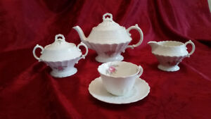 "1926 SPODE""S BILLINGSLEY ROSE Pink Jewel China (Sold as a set) E"