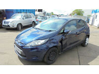 FORD FIESTA 1.4TDCi 70 EDGE DAMAGED REPAIRABLE SALVAGE