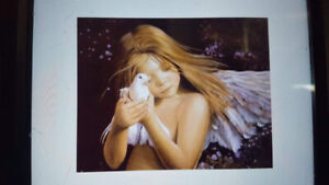 Angel girl picture
