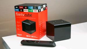 Amazon Fire TV Cube  - With Alexa
