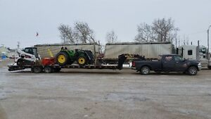 Custom Agriculture Equipment Hauling