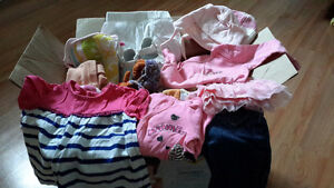 Lot de vêtements pour bébé fille 0-3 mois