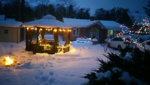 WINTERIZED  OLD CHARMING HOUSE/COTTAGE 3 BR. RIVERFRONT WASAGA